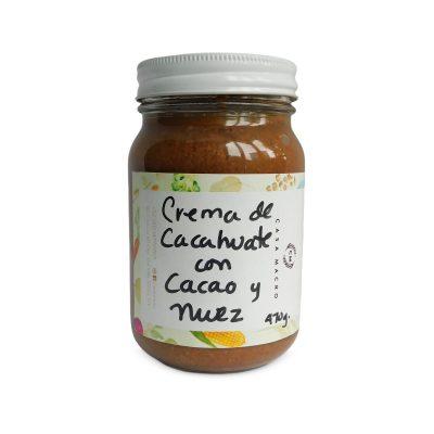 CREMA DE CACAHUATE CON PILONCILLO Y CACAO